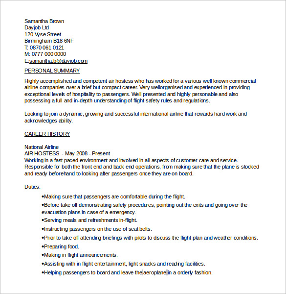 7 hostess resumes samples examples templates sample templates