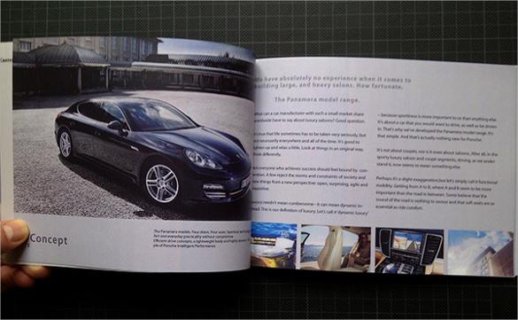 printableold car design broucher