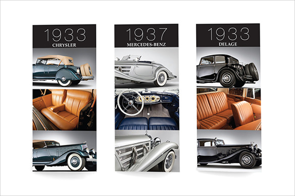20+ Old Car Brochures - Psd, Vector Eps