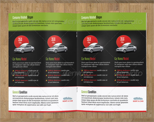 Old Car Brochures  Psd Vector Eps