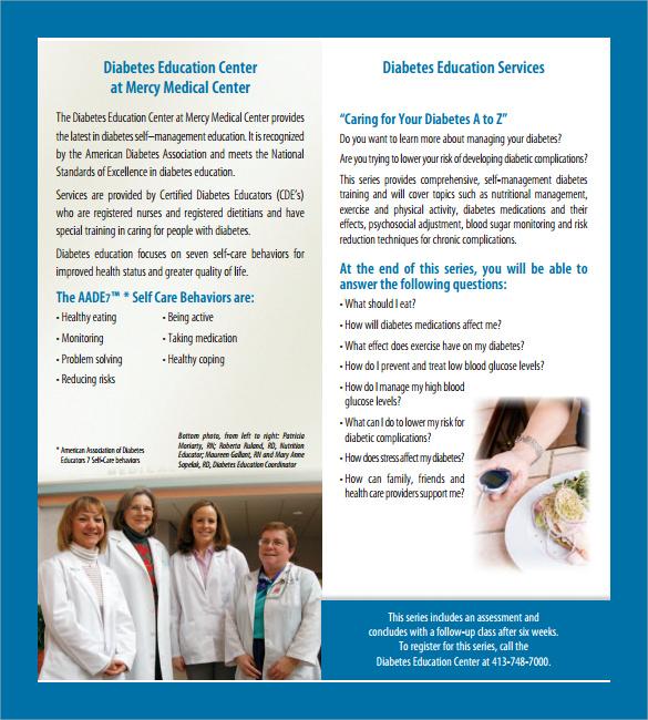 diabetes prevention brochure