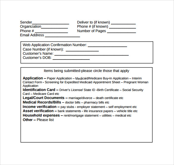 free 15  medical fax cover sheet templates in pdf