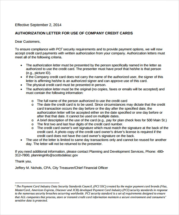 Letter Template Planning Permission.  Credit Approval Form Sle Authorization Letter To Receive Card 28 Images credit approval form sle images pdf 5 card