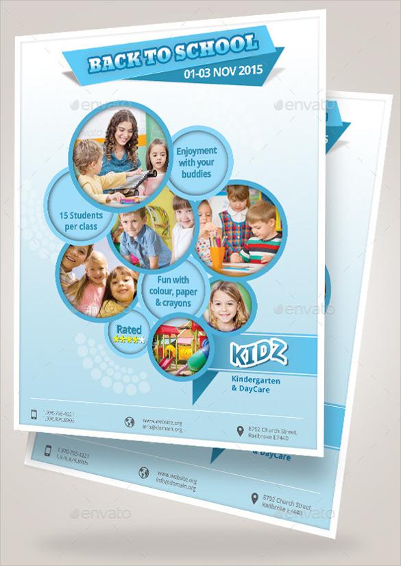 multi purpose daycare flyer
