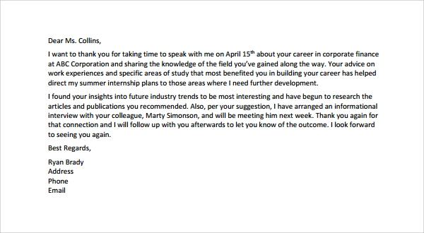 Thank You Letter To Professor Levelings Thank You Letter To