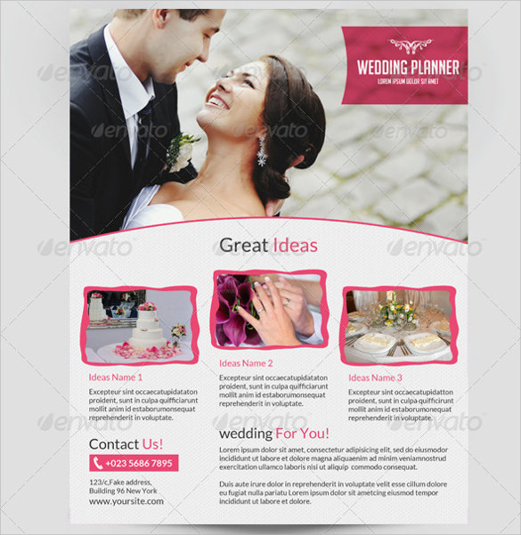 wedding planner templates