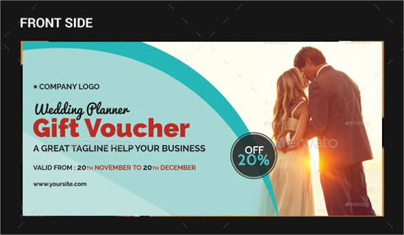 wedding planner gift voucher