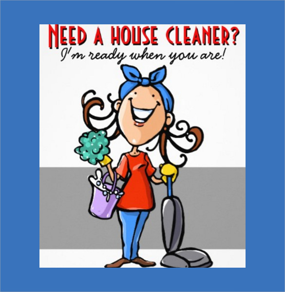 House Cleaning Flyers Template   Download Documents In Vector Eps