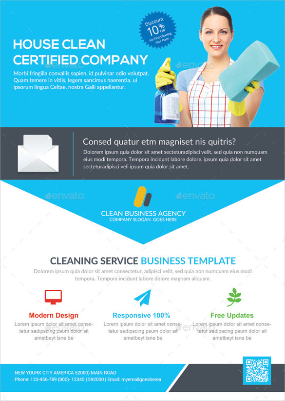 House Cleaning Flyers Template 11 Download Documents in Vector EPS – House Cleaning Flyer Template