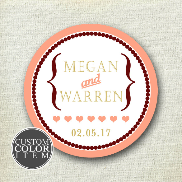 Examples Of Wedding Favor Tags : Wedding Labels Template20+ Download Documents In PSD , PDF , Vector ...