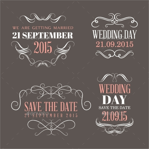 Wedding Favor Labels Templates