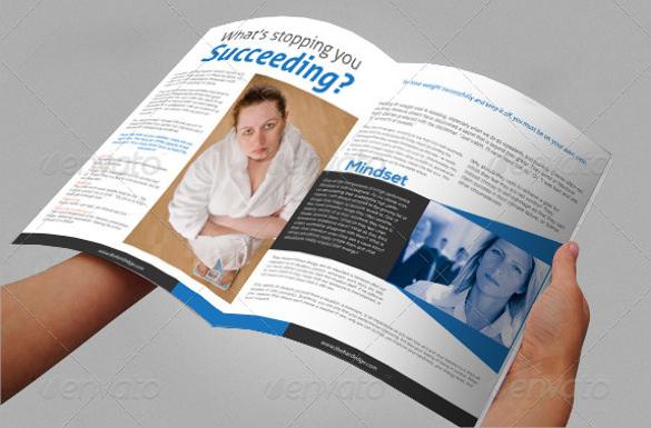 personality building brochure design