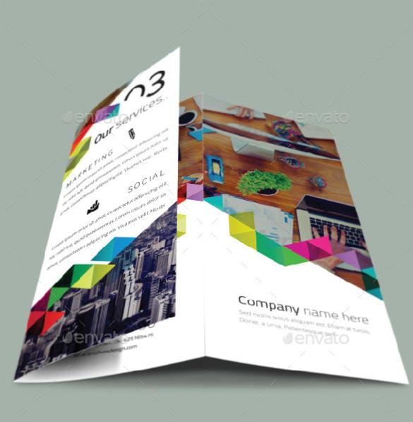 multiple brochure design