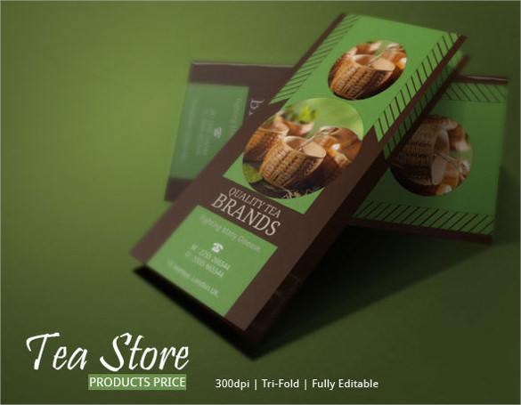 best tea brochure