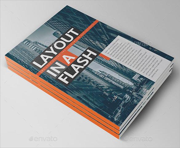 clean brochure design