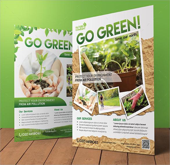 go green flyer