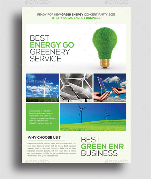 green energy flyers