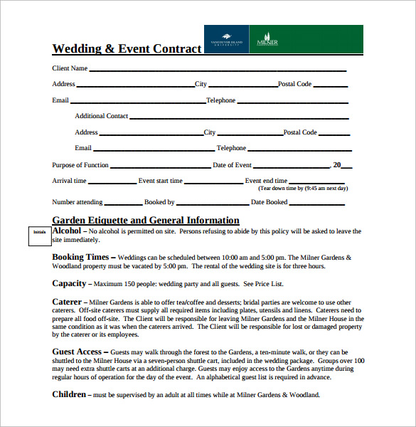 Dj wedding contract for Mobile dj contract template