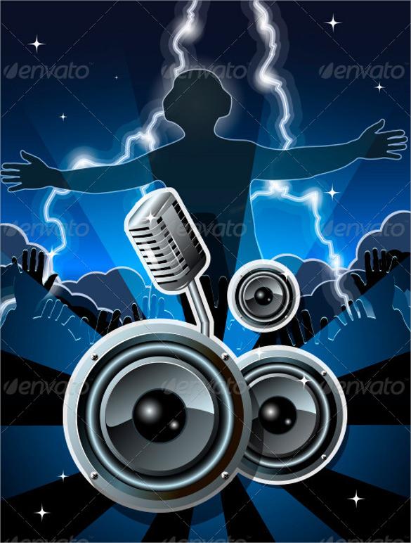 amazing disco flyer