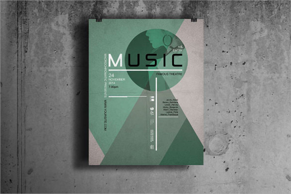music flyer templates