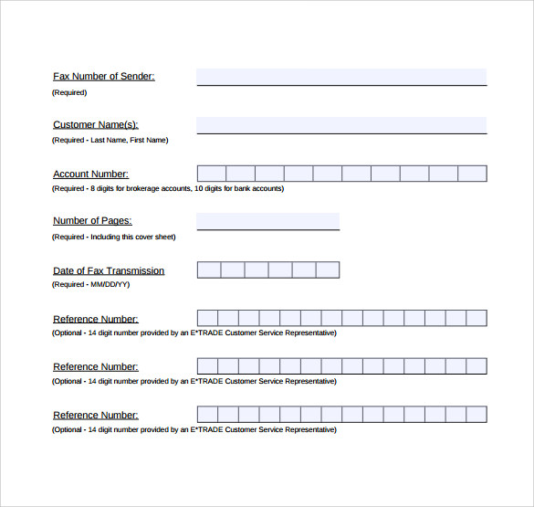 sample pdf generic fax cover sheet