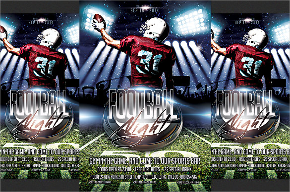 football flyer template free