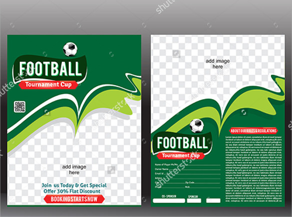 Spectacular Football Flyer Templates  24  Download Documents In Vector dTS894mb