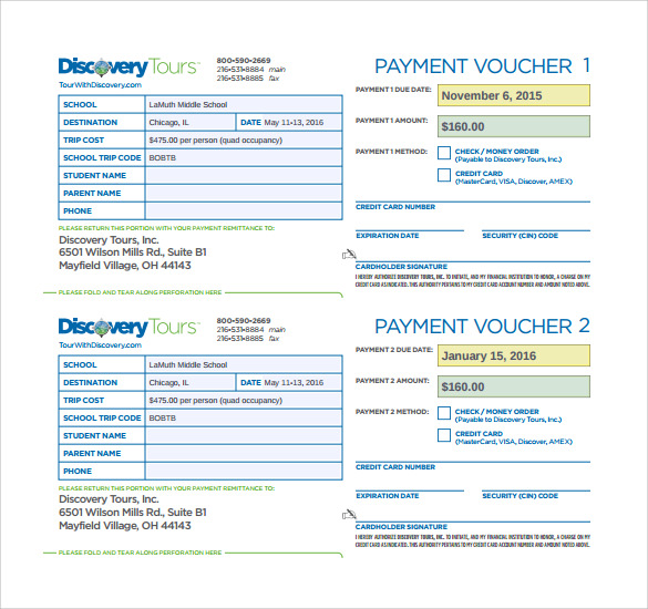 Sample Payment Voucher Template - 9+ Documents in PDF , PSD