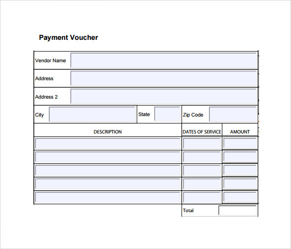 Payment Voucher Template Download