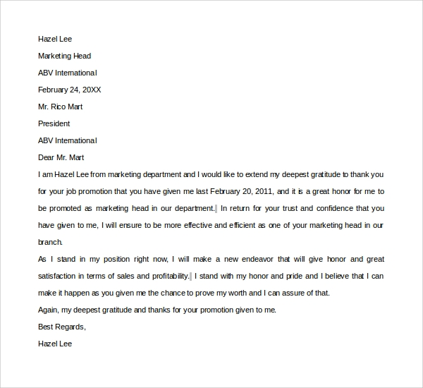 Sample Thank You Letter Template 16 Free Documents Download in – Thank You Letter to Mentor