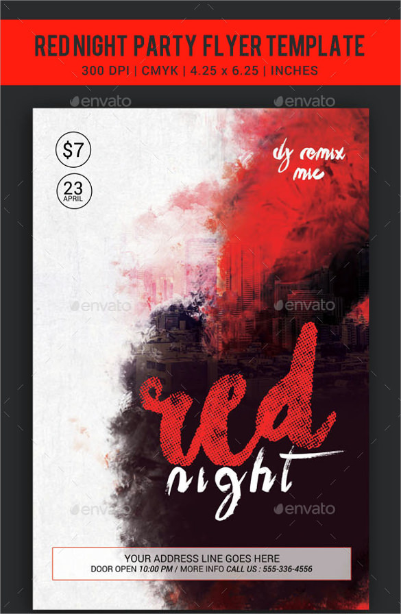 15  marvelous red flyer templates