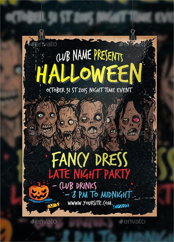 fantastic zombie flyer