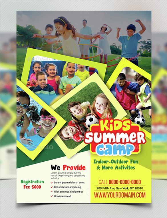 best summer camp flyer