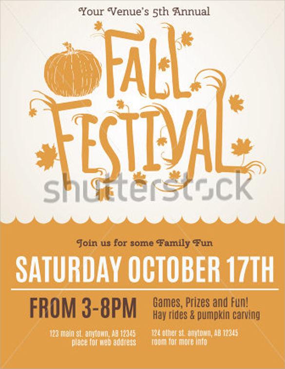 festival invitation flyer