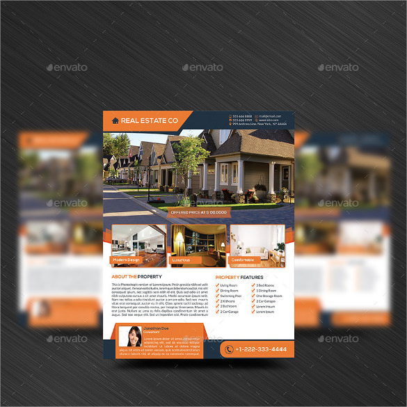 house for sale flyer download