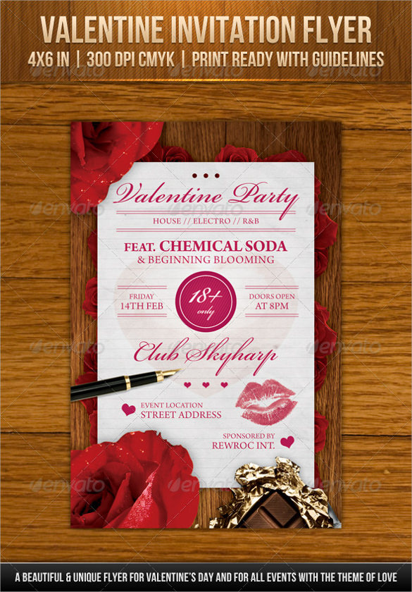 19  invitation flyer templates