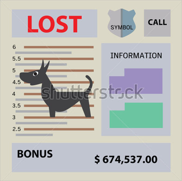 lost dog flyer free