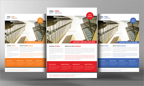 marketing agency flyer