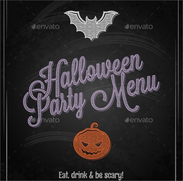Sample Party Menu Template   Download Documents In Psd Pdf Vector