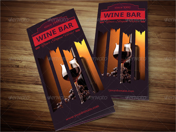 Sample Wine Menu Template    Download Documents In Vector Eps