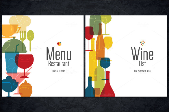 Sample Wine Menu Template - 12 + Download Documents In Vector Eps
