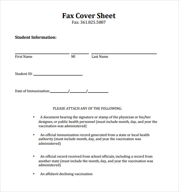 Sample Printable Fax Cover Sheet 17 Free Documents In Pdf Word