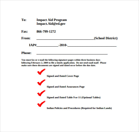 Sample Printable Fax Cover Sheet   Free Documents In Pdf Word