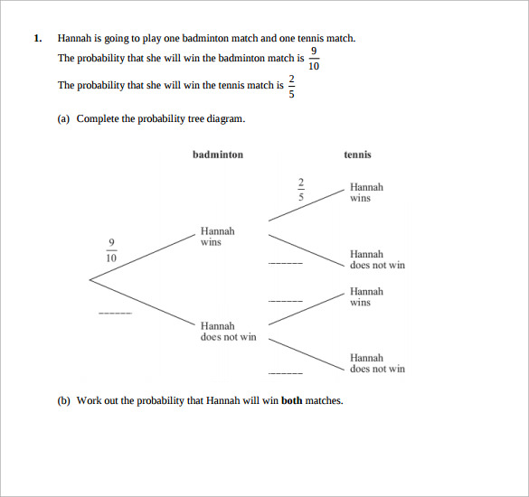 Sample tree diagram 12 documents in word pdf sample tree diagram ccuart