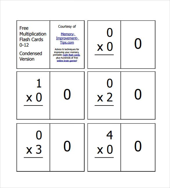 vertical multiplication facts worksheets 9 download