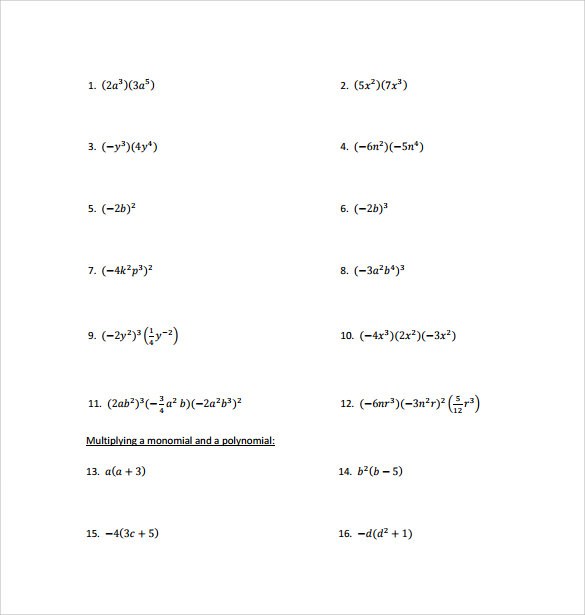 math worksheet : polynomial long division worksheets pdf  division of polynomials  : Division Of Polynomials Worksheet