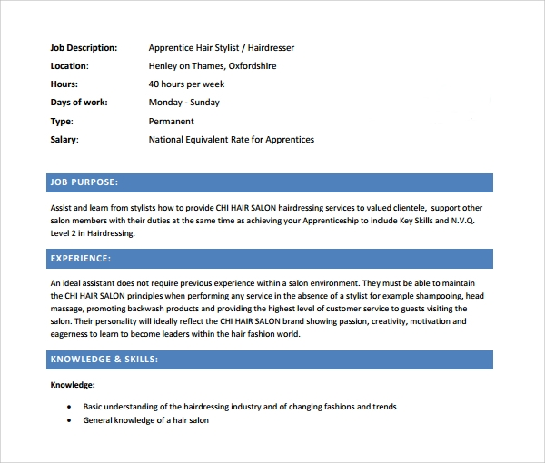 Entry Level Hair Stylist Resume Template. Richard Iii Ap Essay
