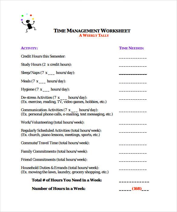sample time worksheet 8 documents in pdf. Black Bedroom Furniture Sets. Home Design Ideas