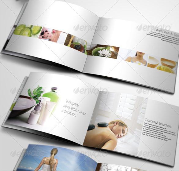 spa center brochure template