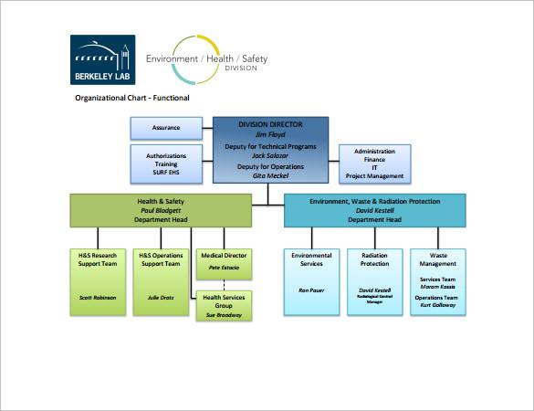 ehs organization chart